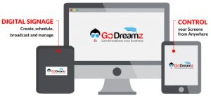 Godreamz - Digital signage software