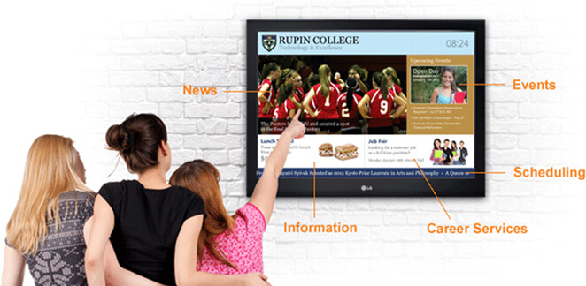Digital Signage for Educational Institutes