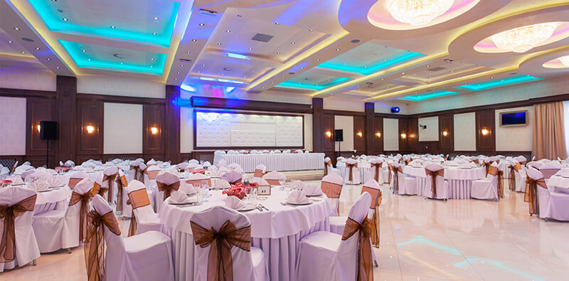 Godreamz services for banquet halls